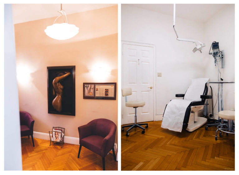 This is a picture of Dr. Yoel Shahar's - Top plastic surgeon in new york - Plastic surgery Clinic in NYC